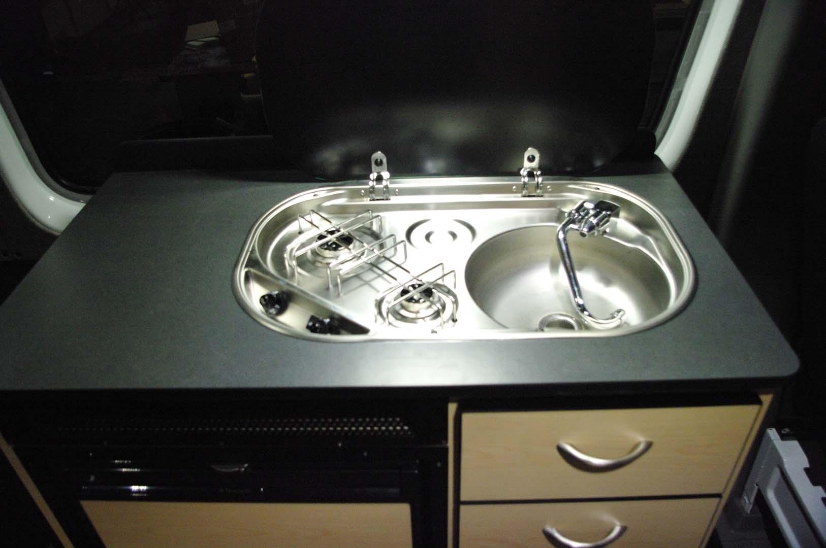 Sink Stove Combo Van Specialties
