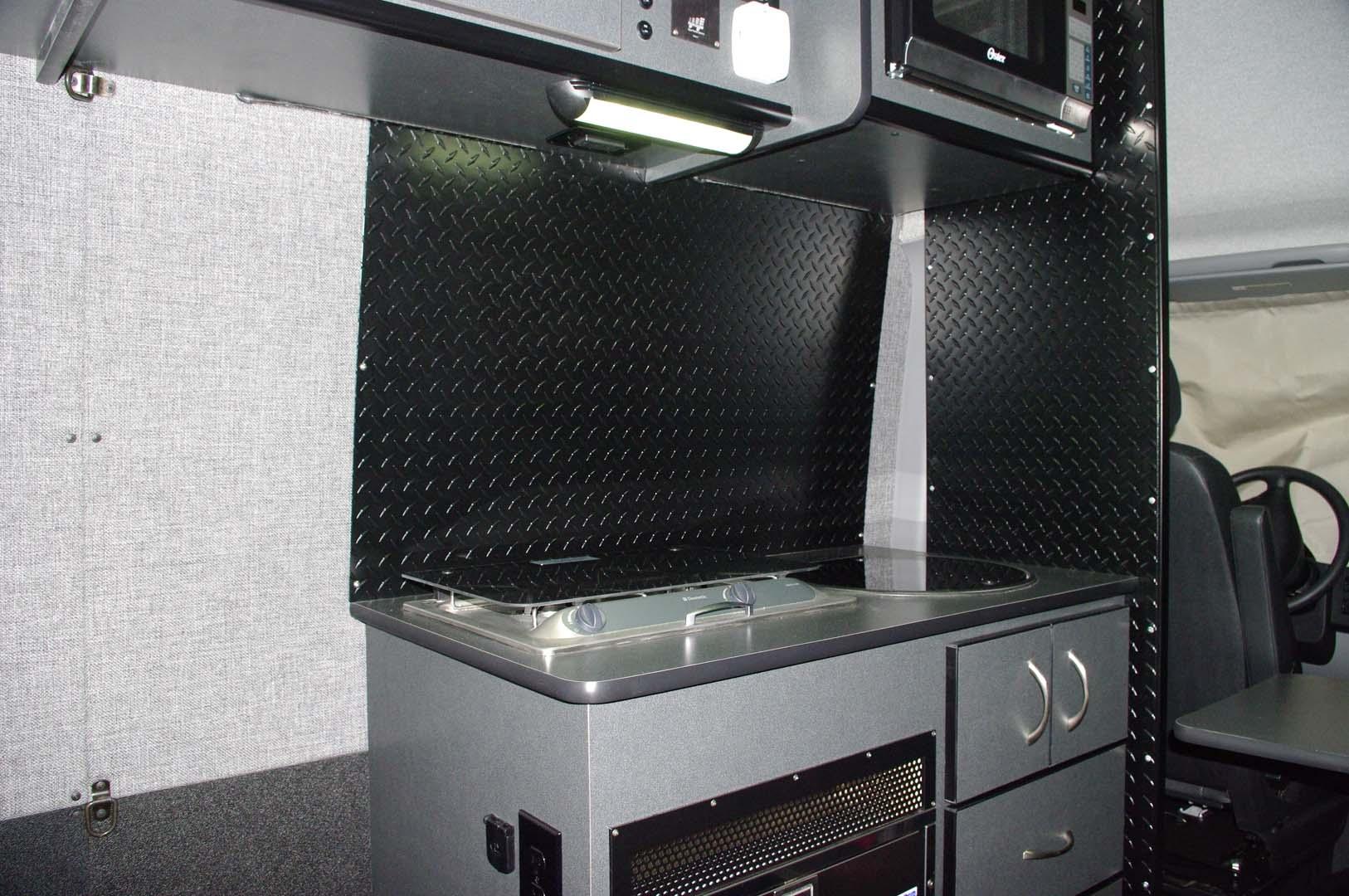 custom diamond plate van specialties. Black Bedroom Furniture Sets. Home Design Ideas