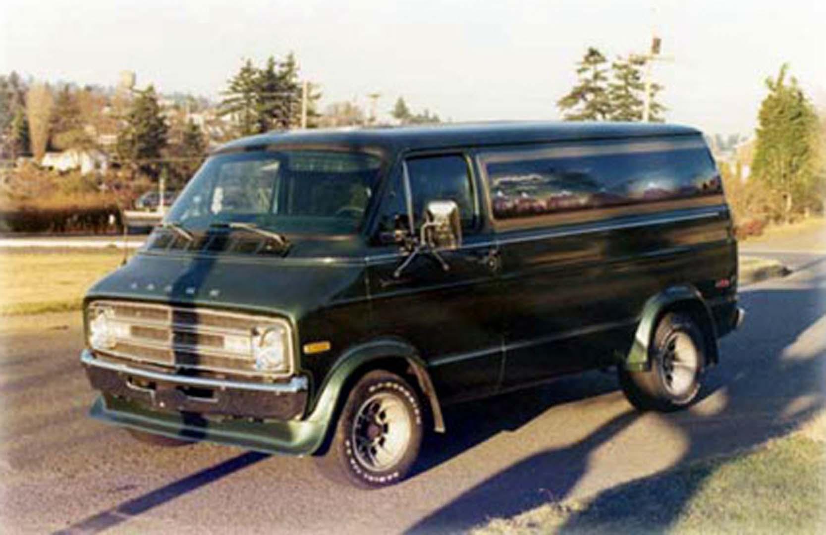 Short Old Dodge   Van Specialties