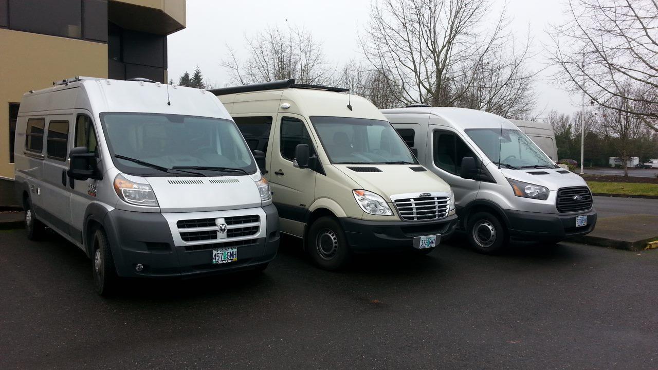 Promaster Sprinter Transit Van Customization